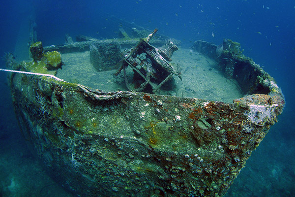 Veronica wreck in Grenada