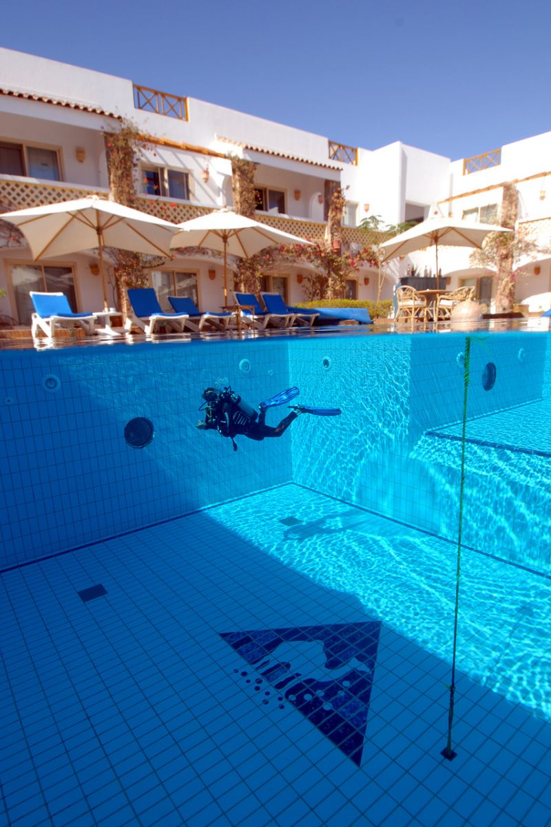 Pool at Camel Dive Club, Sharm el Sheikh