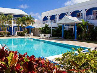 Swimming pool at Bay Gardens Inn, St Lucia
