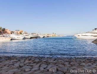 El Gouna Marina in the Red Sea