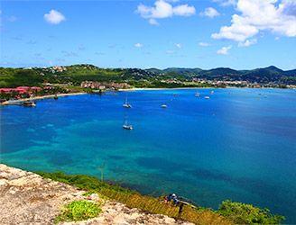 Rodney Bay in St Lucia