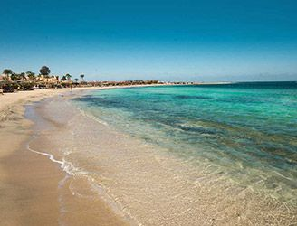 Shams Alam Beach Resort in the Red Sea