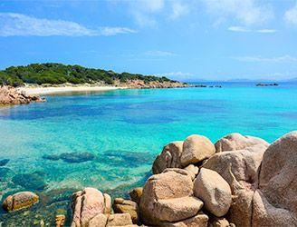 Emerald Coast in Sardinia