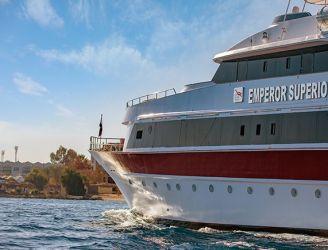 Emperor Superior liveaboard in the Red Sea, Egypt