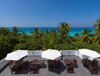 Rooftop at Boutique Beach Dhigurah in the Maldives