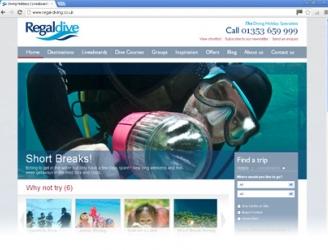 New Regaldive Website