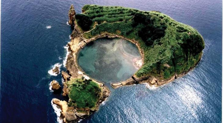 Azores Sao Miguel Vila Frans Islet